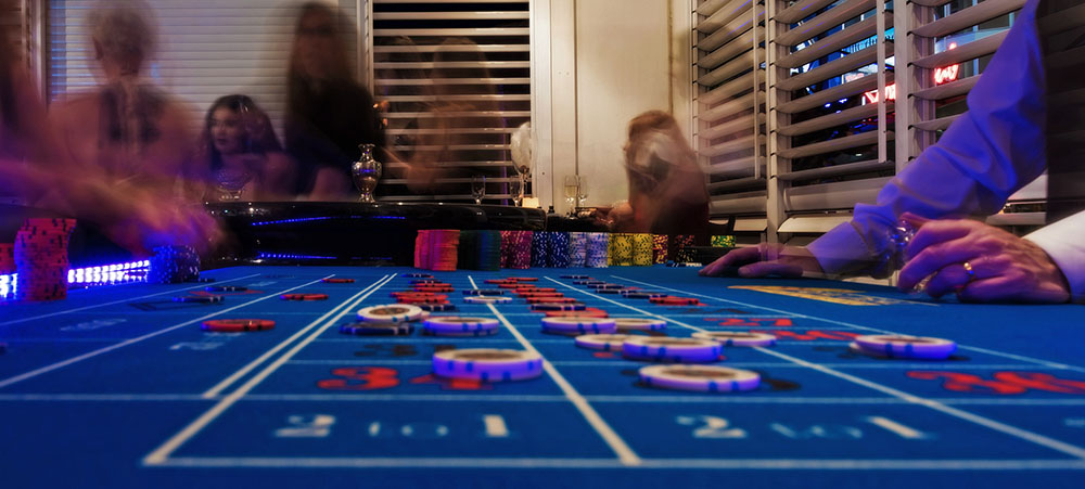Roulette Table Open Night